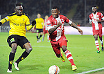 2015-10-30 / Voetbal / seizoen 2015-2016 / SK Lierse - R. Antwerp FC / Stallone Limbombe (r. Antwerp)<br />