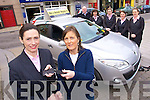 Anne Kelly from The Spa is the proud owner of a brand new Renault Megane 111 in Tralee Credit Union's ninth Members Car Draw. Anne's name was chosen in their live public draw at their Ashe Street office in Tralee on Friday morning. Tralee Credit Union's car draws take place every three months. Their next members' car draw will take place in June. For more information on how to enter contact the offices of Tralee Credit Union Ltd. or visit their website www.traleecu.ie .Front: Katrina Rice Assistant Manager Tralee Credit Union Ltd. Winner Anne Kelly The Spa Tralee,.Back Left to Right: Noel O'Connor Adams of Tralee, Helen Geary, Katie Walsh, Aisling O'Connor and Orla O'Shea Tralee Credit Union Ltd..