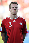 01 July 2007: Canada's Kent O'Connor. At the National Soccer Stadium, also known as BMO Field, in Toronto, Ontario, Canada. Chile's Under-20 Men's National Team defeated Canada's Under-20 Men's National Team 3-0 in a Group A opening round match during the FIFA U-20 World Cup Canada 2007 tournament.