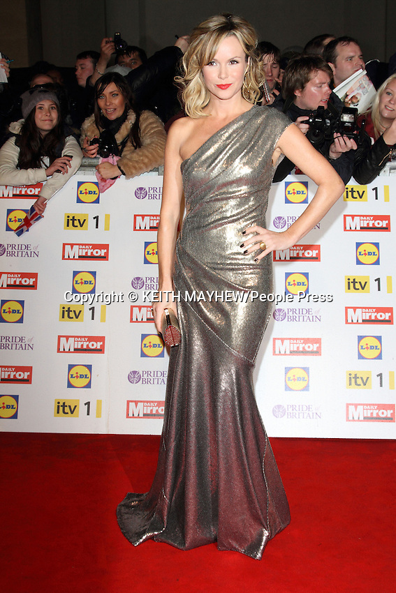 London , UK - Daily Mirror Pride of Britain Awards at the Grosvenor House Hotel, Park Lane, London - October 29th 2012..Photo by Keith Mayhew