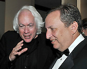 Washington, D.C. - May 9, 2009 -- Leon Wieseltier, literary editor of The New Republic, left, shares some thoughts with Lawrence Summers, Director, National Economic Council, right, as they attend one of the parties prior to the White House Correspondents Dinner in Washington, D.C. on Saturday, May 9, 2009..Credit: Ron Sachs / CNP.(RESTRICTION: NO New York or New Jersey Newspapers or newspapers within a 75 mile radius of New York City)