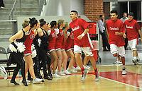 NWA Democrat-Gazette/MICHAEL WOODS &bull; @NWAMICHAELW<br /> The Farmington Cardinals vs the Harrison Goblins Tuesday January 12, 2016 during their game at Cardinal Arena in Farmington.