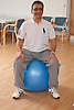 Man doing exercise class.(NOT to be portrayed as Muslim)