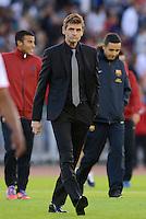 FUSSBALL  INTERNATIONAL Testspiel 2012/2013  08.08.2012 Manchester United  - FC Barcelona  Trainer Tito Vilanova (Barca)