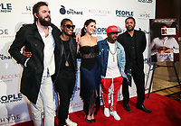 LOS ANGELES, CA - NOVEMBER 13: Nick Thune, Usher Raymond IV, Gillian Alexy, Kaily Smith Westbrook and Jermiane Dupri at People You May Know at The Pacific Theatre at The Grove in Los Angeles, California on November 13, 2017. Credit: Robin Lori/MediaPunch /NortePhoto.com