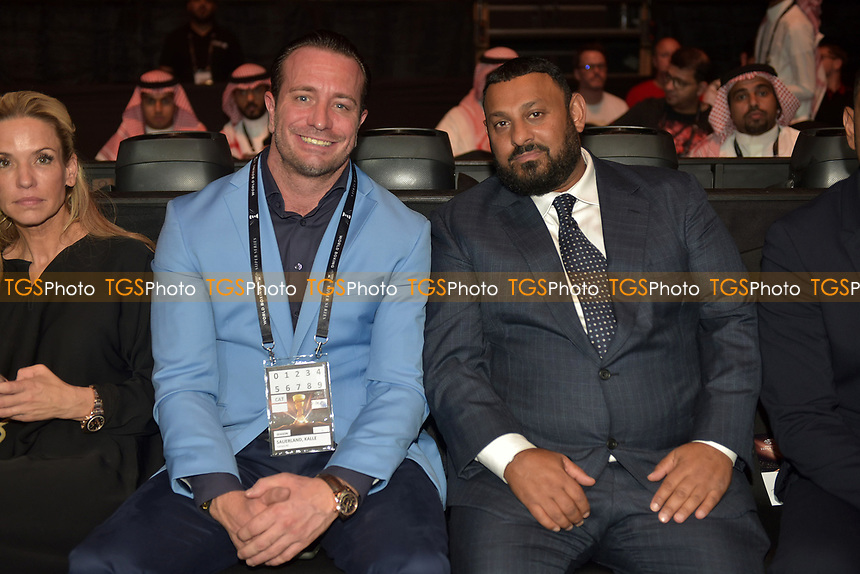 Kalle Sauerland and Naseem Hamed ahead of a Boxing Show at King Abdullah Sports City on 28th September 2018