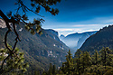 September 2014 / Yosemite National Park landscapes / Yosemite Valley View from Rte 140 / Photo / by Bob Laramie