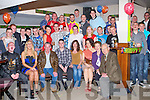 21ST BRITHDAY: Danny McDonagh, Shanakill, Tralee (seated centre) enjoying a great time celebrating his 21st birthday with family, friends and Abbeydorney U21 hurling team at the Kirby's Brogue Inn, Tralee on Saturday.