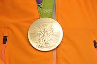 ZEILEN: WARTEN: 27-08-2016, Huldiging Marit Bouwmeester, Olympische medaille, ©foto Martin de Jong