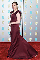 Amy Adams<br /> arriving for the BAFTA Film Awards 2019 at the Royal Albert Hall, London<br /> <br /> ©Ash Knotek  D3478  10/02/2019