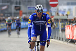 Tim Declercq (BEL) Deceuninck-Quick Step arrives at sign on before the 2019 Gent-Wevelgem in Flanders Fields running 252km from Deinze to Wevelgem, Belgium. 31st March 2019.<br /> Picture: Eoin Clarke | Cyclefile<br /> <br /> All photos usage must carry mandatory copyright credit (© Cyclefile | Eoin Clarke)