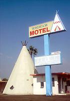 Wigwam Motel in San Bernadino, CA