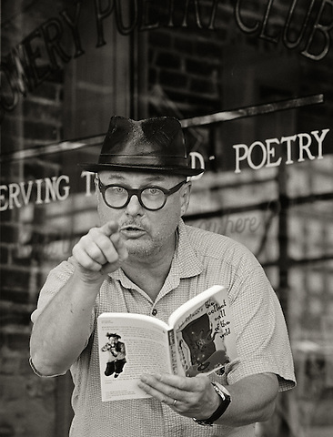 Bob Holman, 2005.  Poet, poetry activist, founder, Bowery Poetry Club.