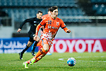 Jeju United FC Midfielder Lee Changmin in action during the AFC Champions League 2017 Group H match between Jeju United FC (KOR) vs Jiangsu FC (CHN) at the Jeju World Cup Stadium on 22 February 2017 in Jeju, South Korea. Photo by Marcio Rodrigo Machado / Power Sport Images