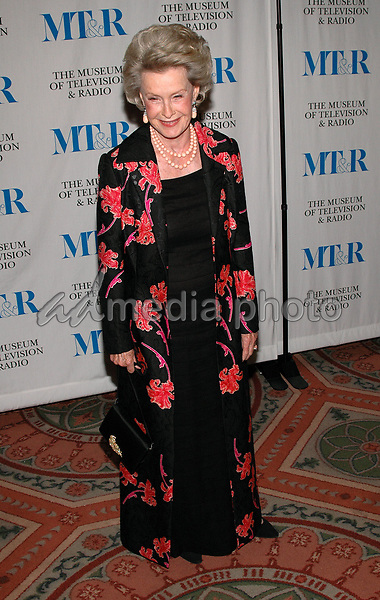 26 May 2005 - New York, New York - Dina Merrill arrives at The Museum of Television and Radio's Annual Gala where Merv Griffin is being honored for his award winning career in radio and television.<br />Photo Credit: Patti Ouderkirk
