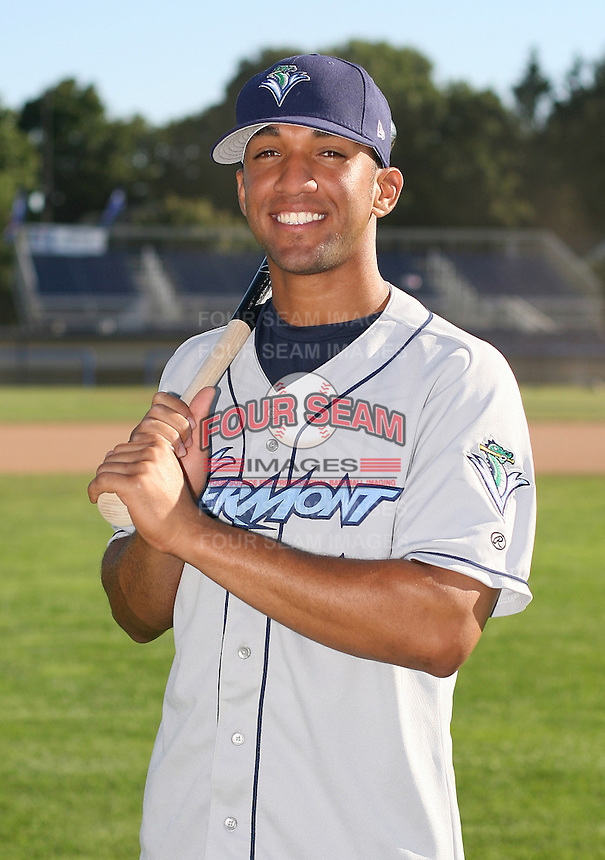 2007:  Jean Alvarez of the Vermont Lake Monsters, Class-A affiliate of the Washington Nationals, during the New York-Penn League baseball season.  Photo by Mike Janes/Four Seam Images