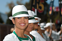 March 15, 2015: Rolex grid girls at the 2015 Australian Formula One Grand Prix at Albert Park, Melbourne, Australia. Photo Sydney Low