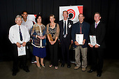 Coach of the Year finalists Gary Hollywood, Steve Pellow, Lawrie Crooke, Josh Takurua, Kirsten Hellier & Laurie Jury. Counties Manukau Sport 17th annual Sporting Excellence Awards held at the Telstra Clear Pacific Events Centre, Manukau City, on November 27th 2008.