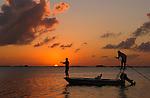 Boca Paila silhouettes