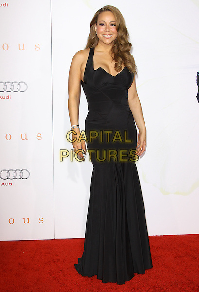 "MARIAH CAREY .at the 2009 AFI Film Festival Premiere of ""Precious"" held at Grauman's Chinese Theatre, Hollywood, California, USA, .1st November 2009. .full length black long maxi dress gown fishtail  .CAP/ADM/KB.©Kevan Brooks/AdMedia/Capital Pictures."