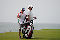 Pedro Figueiredo (POR) on the 9th during Round 1 of the Oman Open 2020 at the Al Mouj Golf Club, Muscat, Oman . 27/02/2020<br /> Picture: Golffile   Thos Caffrey<br /> <br /> <br /> All photo usage must carry mandatory copyright credit (© Golffile   Thos Caffrey)
