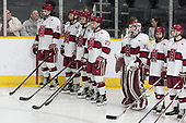 Clay Anderson (Harvard - 5), Jake Horton (Harvard - 19), Michael Floodstrand (Harvard - 44), Viktor Dombrovskiy (Harvard - 27), Cameron Gornet (Harvard - 32), Nathan Krusko (Harvard - 13), John Marino (Harvard - 12) - The Harvard University Crimson defeated the Air Force Academy Falcons 3-2 in the NCAA East Regional final on Saturday, March 25, 2017, at the Dunkin' Donuts Center in Providence, Rhode Island.