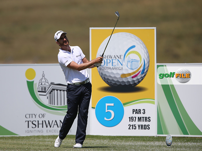 Alejandro Canizares (ESP) adds just one shot during Round Two but makes the cut at The Tshwane Open 2014 at the Els (Copperleaf) Golf Club, City of Tshwane, Pretoria, South Africa. Picture:  David Lloyd / www.golffile.ie