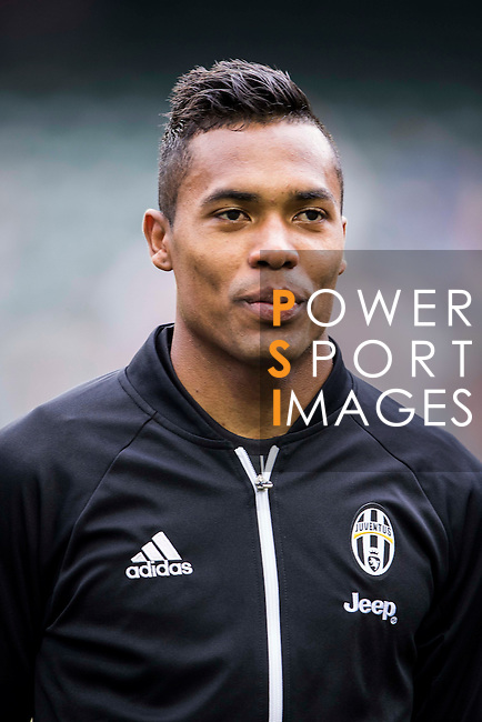 Juventus' player Alex Sandro poses for a picture before the South China vs Juventus match of the AET International Challenge Cup on 30 July 2016 at Hong Kong Stadium, in Hong Kong, China.  Photo by Marcio Machado / Power Sport Images