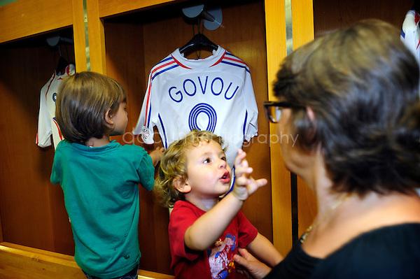 Paris, the 6th of july 2010..Stade de France tour..Magali Corouge / Documentography