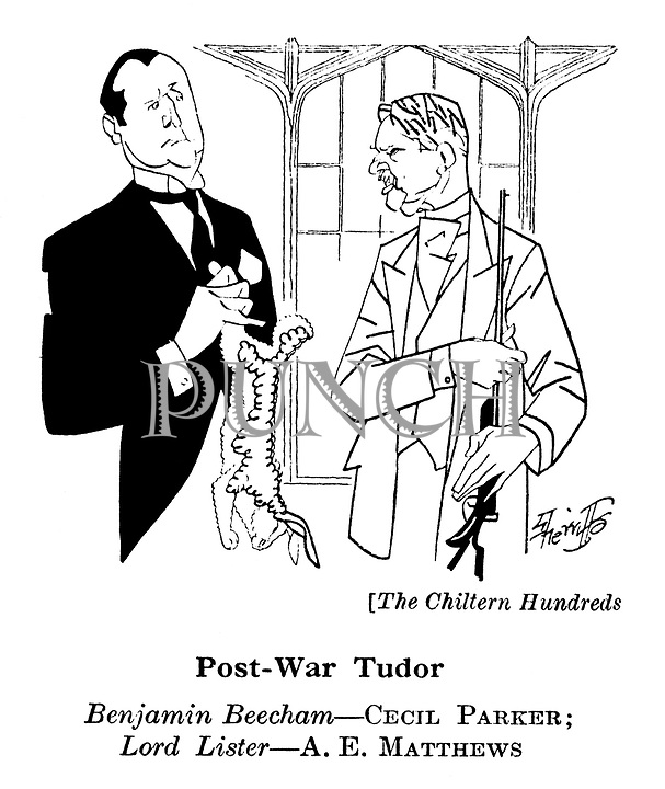 The Chiltern Hundreds ; Cecil Parker and A E Matthews
