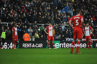 Matt Ritchie of Newcastle United celebrates scoring Newcastle United's third goal of the game during Newcastle United vs Southampton, Premier League Football at St. James' Park on 10th March 2018