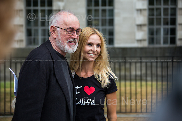 Peter Egan (British Actor and animal rights &amp; welfare campaigner) &amp; Anneka Svenska (Wildlife campaigner, Conservationist and broadcaster). <br />