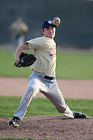 January 16, 2010:  Austin March (San Carlos, CA) of the Baseball Factory Southwest Team during the 2010 Under Armour Pre-Season All-America Tournament at Kino Sports Complex in Tucson, AZ.  Photo By Mike Janes/Four Seam Images
