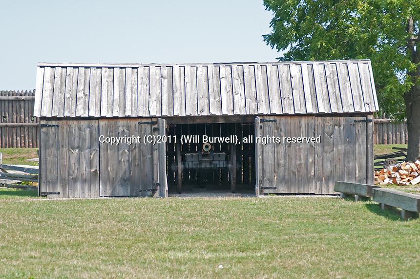 Gun Shed, Fort George, Niagara-on-the-Lake