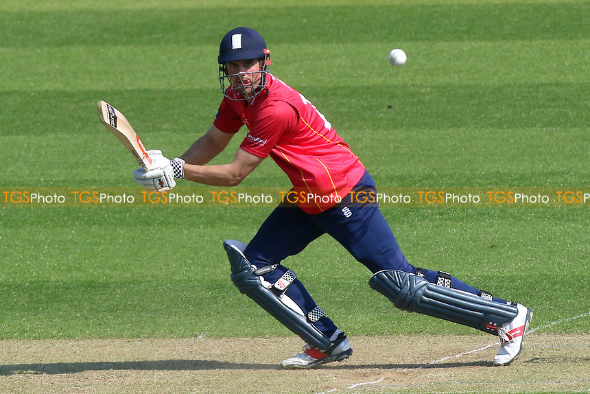 Essex batsman Alastair Cook in action during Glamorgan vs Essex Eagles, Royal London One-Day Cup Cricket at the SSE SWALEC Stadium on 7th May 2017
