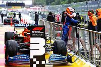 11th July 2020; Styria, Austria; FIA Formula One World Championship 2020, Grand Prix of Styria qualifying sessions;  55 CarlSainz ESP, McLaren F1 Team
