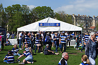 A general view of a Bath Rugby Season Ticket Holder Event marquee. Aviva Premiership match, between Bath Rugby and London Irish on May 5, 2018 at the Recreation Ground in Bath, England. Photo by: Patrick Khachfe / Onside Images
