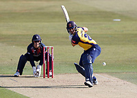 Ryan ten Doeschate hits out for Essex during Kent Spitfires vs Essex Eagles, Vitality Blast T20 Cricket at The Spitfire Ground on 18th September 2020