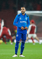 Theo Walcott of Everton pre match during the Premier League match between Arsenal and Everton at the Emirates Stadium, London, England on 3 February 2018. Photo by Andrew Aleksiejczuk / PRiME Media Images.