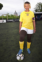 "The women's soccer team of Vatican City. 26 may 2019<br /> Vatican captain Eugene Tcheugoue<br /> <br /> Women's football arrives at the Vatican, with what can be considered in all respects the women's national football team of the Holy See. The Vatican representative, announced in recent weeks, made its debut yesterday afternoon, Sunday 26 May, in the sports center of the Knights of Columbus, against the Roma women's team of Roma.<br /> The girls that make up the team are all Vatican employees or wife and daughters of staff of the Holy See, plus some players from the Bambino Gesù hospital team who joined for this 11-a-side football match. «We are born in an amateur way - he tells the attacker and captain of the Vatican Eugene Tcheugoue - and playing together represents for us above all a way to get to know and be together ».<br /> <br /> The young soccer player, a graduate in theology and a native of Cameroon, has no doubts about the great important symbolism of the team: ""Many of us are mothers even before they are employees or at least daughters and wives, so in the first place for us is the metaphor of football as a gym of life. Sport in general - says Eugene Tcheugoue - conveys a fundamental message, both for the new generations and in particular for women ""."