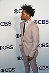 Jermaine Fowler arrives at the CBS Upfront at The Plaza Hotel in New York City on May 17, 2017.