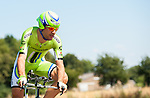 SITTARD, NETHERLANDS - AUGUST 16: Alan Marangoni of Italy riding for Cannondale Pro Cycling competes during stage 5 of the Eneco Tour 2013, a 13km individual time trial from Sittard to Geleen, on August 16, 2013 in Sittard, Netherlands. (Photo by Dirk Markgraf/www.265-images.com)