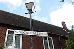 vinegar alley reminds us of the times of the plague
