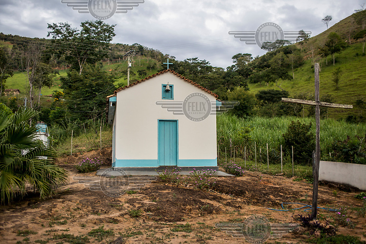 A church in the rural farmlands of Ipanema municipality.