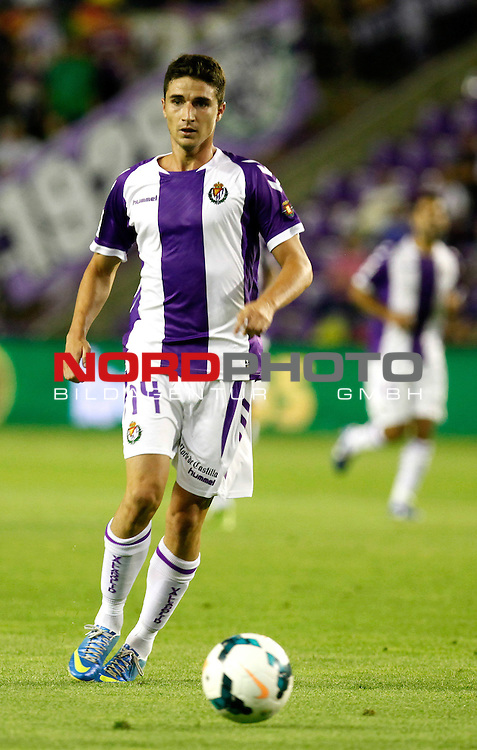 Real Valladolid¬¥s Omar during La Liga match.August 31,2013. Foto © nph / Victor Blanco)