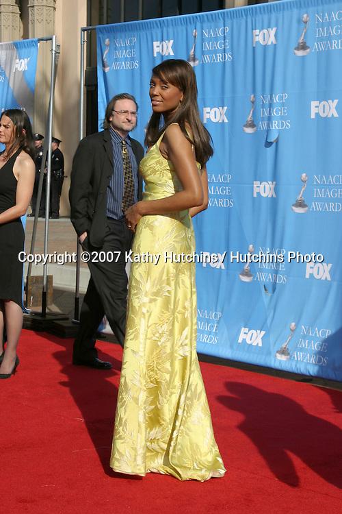 Aisha Tyler.NAACP Image Awards.Shrine Auditorium.Los Angeles, CA.March 2, 2007.©2007 Kathy Hutchins / Hutchins Photo...