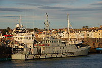 HMC Seeker in Bangor, north Wales. STOCK PICTURE