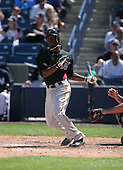 Andrew McCutchen of the Pittsburgh Pirates vs. the New York Yankees March 18th, 2007 at Legends Field in Tampa, FL during Spring Training action.  Photo copyright Mike Janes Photography 2007.