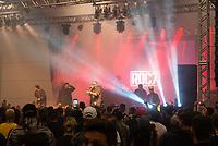 SÃO PAULO, SP, 19.10.2018 - TATTOO WEEK - Show de Edi Rock durante a Tattoo Week na São Paulo Expo no bairro da Água Funda, na região Sul da cidade de São Paulo nesta sexta-feira, 19.(Foto: Anderson Lira/Brazil Photo Press)