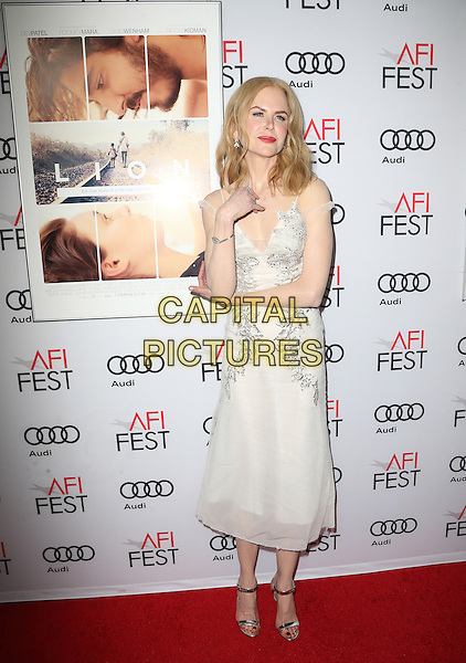 HOLLYWOOD, CA - NOVEMBER 11: Nicole Kidman at the premiere of The Weinstein Company's 'Lion' at AFI Fest 2016, presented by Audi at TCL Chinese 6 Theater on November 11, 2016 in Hollywood, California.  <br /> CAP/MPI/SAD<br /> &copy;SAD/MPI/Capital Pictures